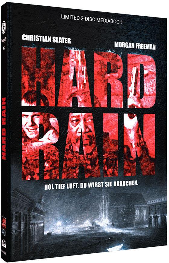 Hard Rain (1989) (Cover D, Limited Edition, Mediabook, Blu-ray + DVD)