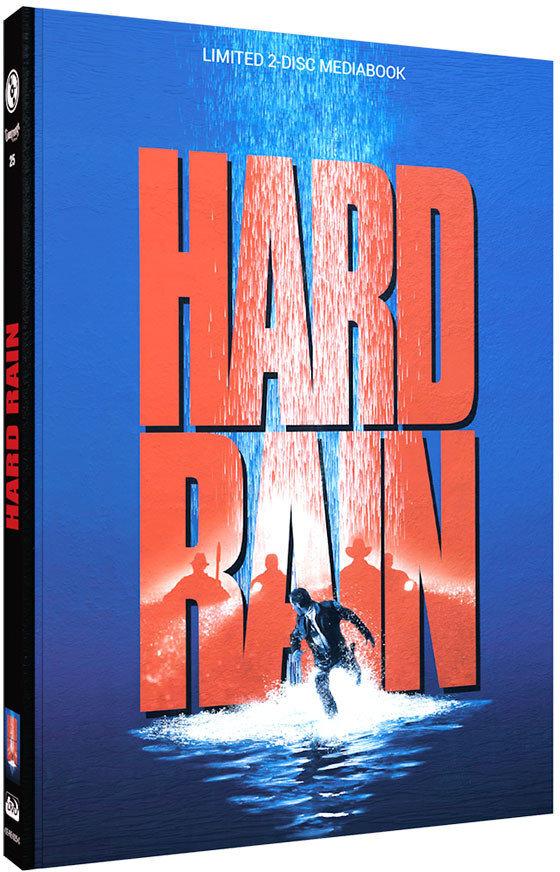 Hard Rain (1989) (Cover C, Limited Edition, Mediabook, Blu-ray + DVD)