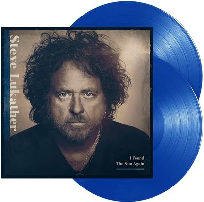 Steve Lukather (Toto) - I Found The Sun Again (Blue Transparent Vinyl, 2 LPs)