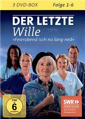 Der letze Wille - Folge 1-6 (3 DVDs)