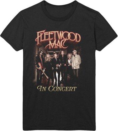 Fleetwood Mac Unisex Tee - In Concert