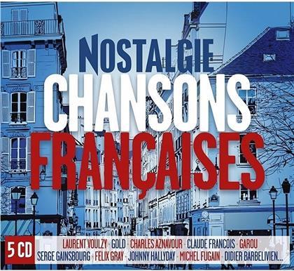 Nostalgie Chanson Francaise (5 CDs)