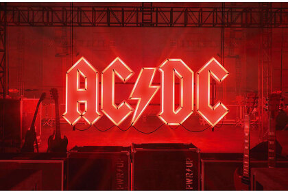 AC/DC Textile Poster - PWR-UP