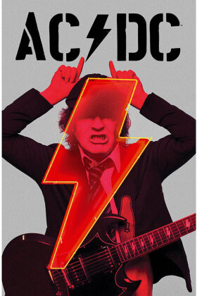 AC/DC Textile Poster - PWR-UP Angus