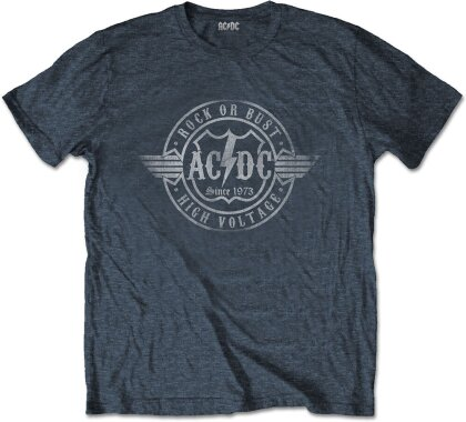 AC/DC Unisex Tee - Rock or Bust