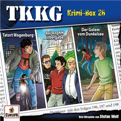 TKKG - Krimi-Box 26 (Folgen 196,197,198) (3 CDs)