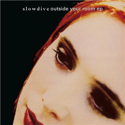 Slowdive - Outside Your Room (2020 Reissue, Music On Vinyl, Gold/Red Vinyl, LP)