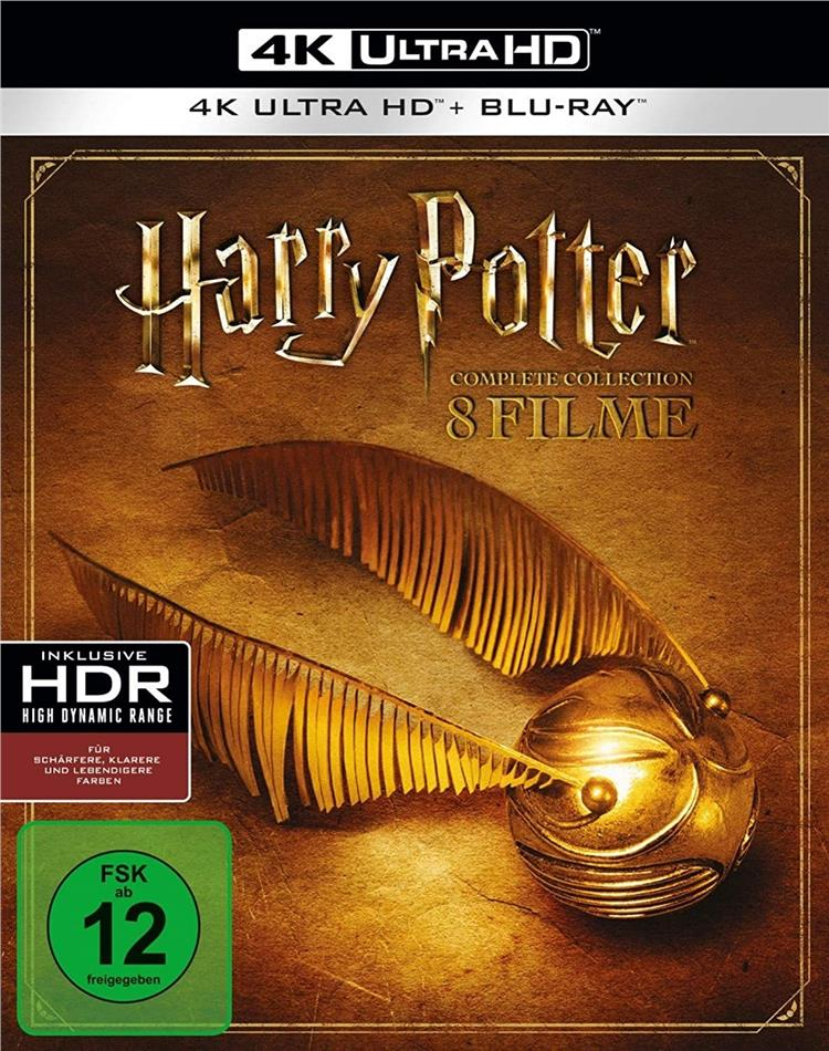 Harry Potter 1-7 - Complete Collection (8 4K Ultra HDs + 8 Blu-rays)
