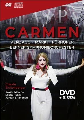 Venzago, Märki, Fürhofer & Berner Symphonieorchester - Carmen - Konzert Theater Bern 2018 (DVD + 2 CDs)