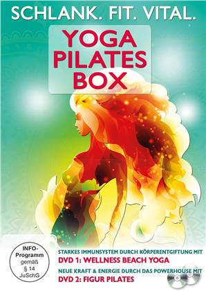 Yoga Pilates Box - Schlank. Fit. Vital. (2 DVD)