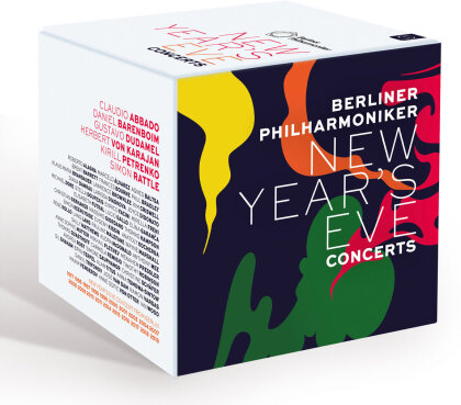 Berliner Philharmoniker - New Year's Eve Concerts (20 Blu-rays)