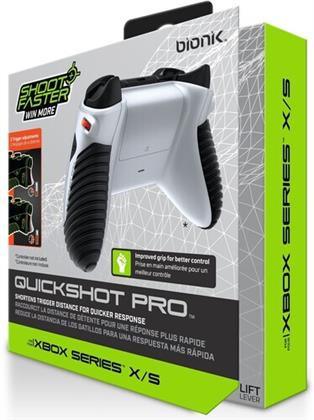 Bionik QuickShot Pro for Xbox Series X/S - White