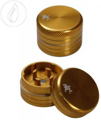 Black Leaf Mini Grinder - 2-teilig Gold