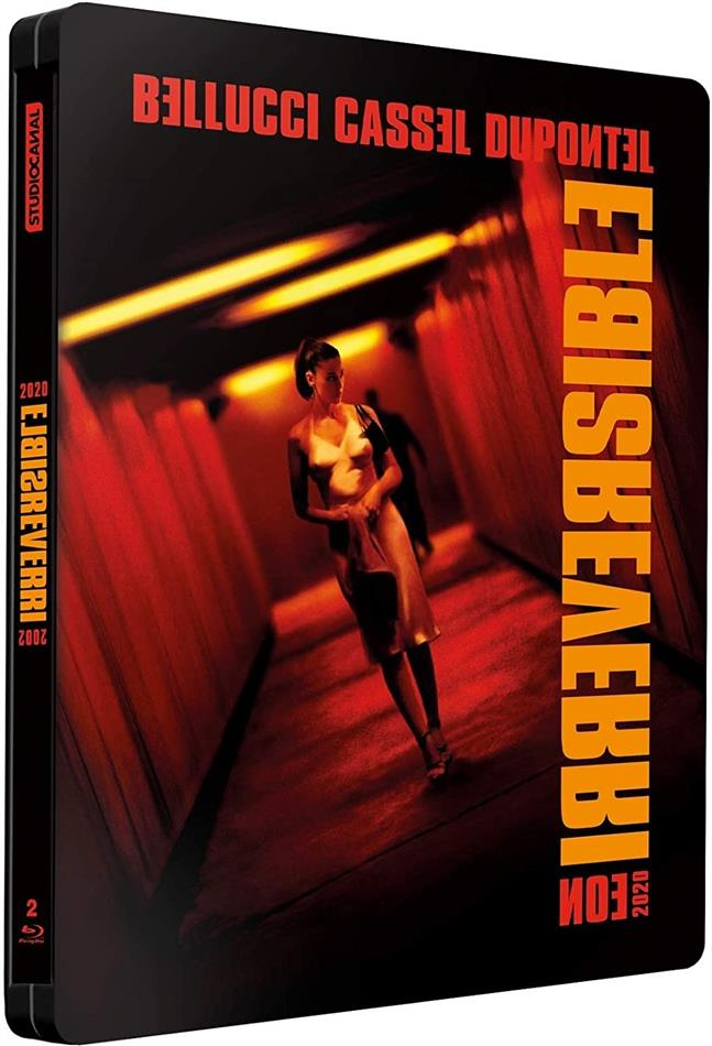 Irreversible (2002) (Limited Edition, Steelbook, 2 Blu-rays)
