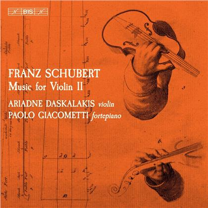 Ariadne Daskalakis & Franz Schubert (1797-1828) - Music For Violin 2 (SACD)