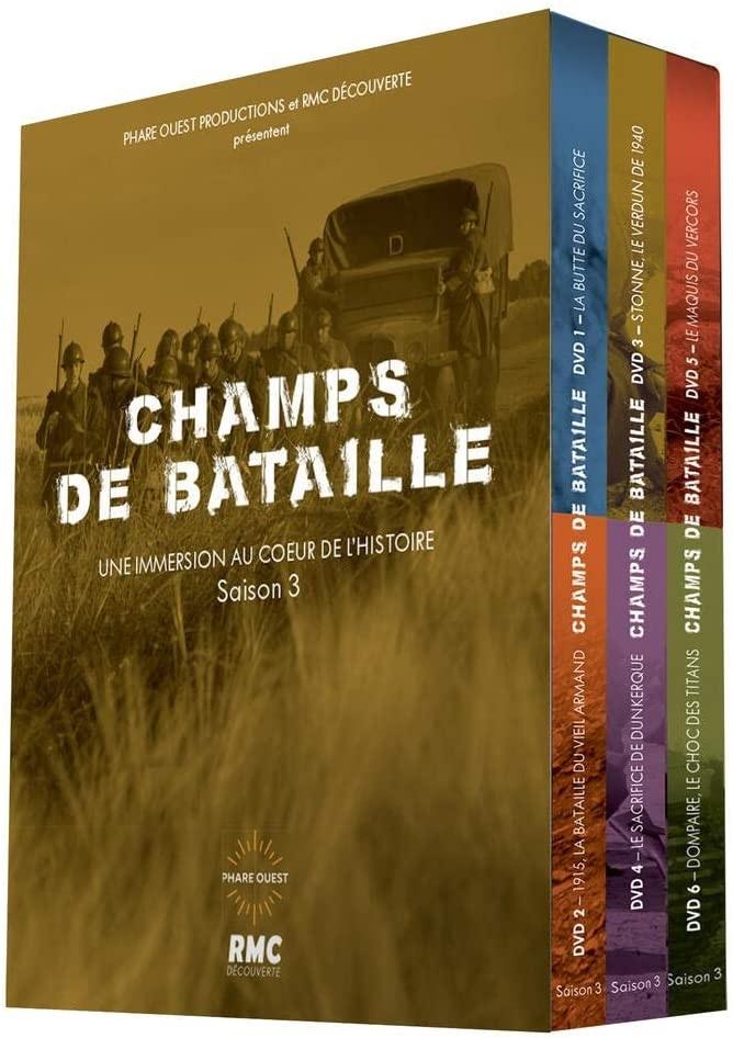 Champs de bataille - Saison 3 (6 DVDs)