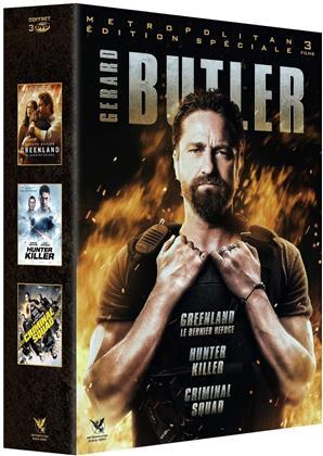 Gerard Butler - Greenland / Hunter Killer / Criminal Squad (3 DVDs)