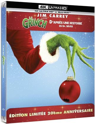 Le Grinch (2000) (20th Anniversary Edition, Limited Edition, Steelbook, 4K Ultra HD + Blu-ray)