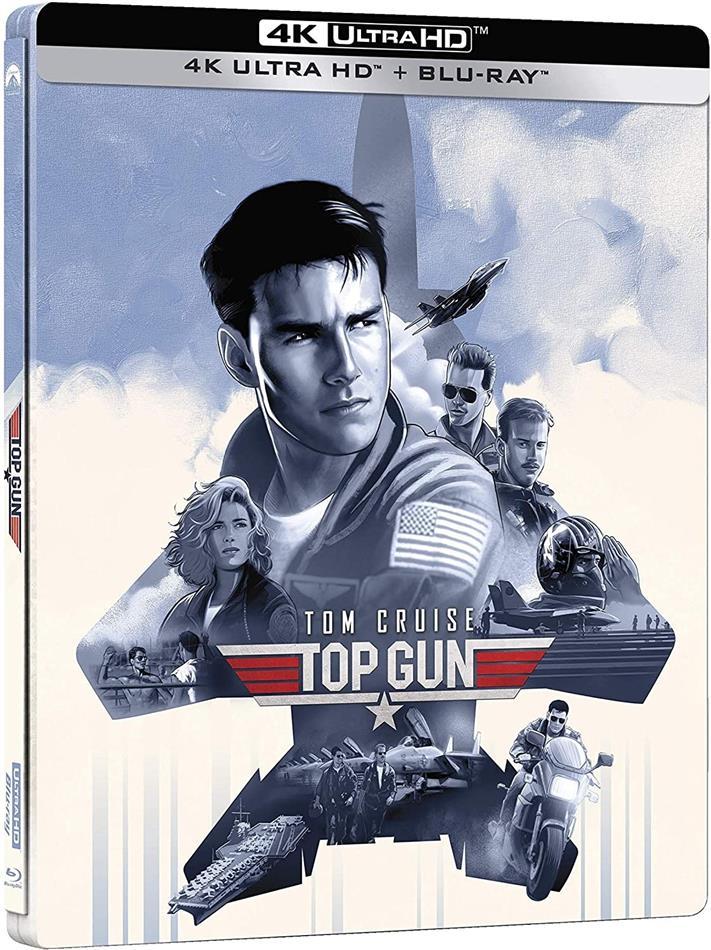 Top Gun (1986) (Limited Edition, Steelbook, 4K Ultra HD + Blu-ray)