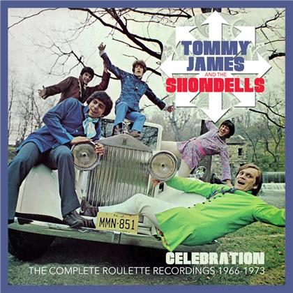 Tommy James And The Shondells - Celebration ~ The Complete Roulette Recordings 1966-1973: 6CD Clamshell Boxset
