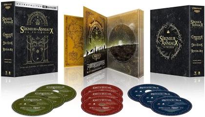 Le seigneur des anneaux - La Trilogie (Version Cinéma, Version Longue, 9 4K Ultra HDs)