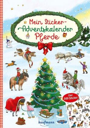 Mein Sticker-Adventskalender