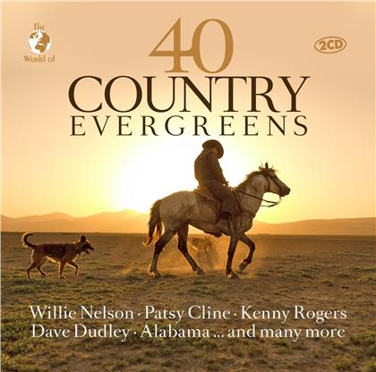 40 Country Evergreens (2 CDs)