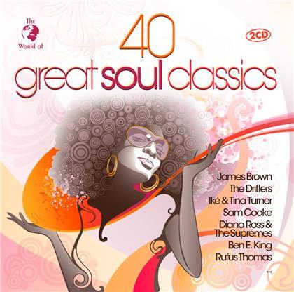 40 Great Soul Classics (2 CDs)