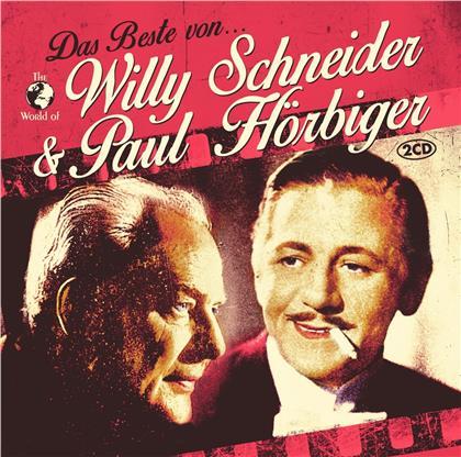 Willy Schneider & Paul Hörbiger - Das Beste (2 CDs)