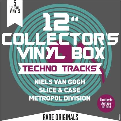 "12""Collector s Vinyl Box: Techno Tracks (5 LPs)"