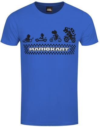 Nintendo Super Mario Kart: Silhouette - Men's T-Shirt