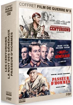 Les Centurions / La nuit des généraux / Passeur d'hommes - Coffret Film de Guerre N°3 (3 DVDs)