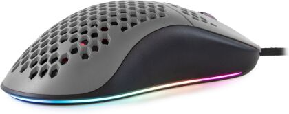 Arozzi Favo Ultra Light Gaming Mouse - black/grey
