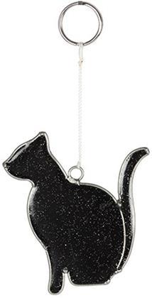 Black Cat - Mini Mystical Suncatcher