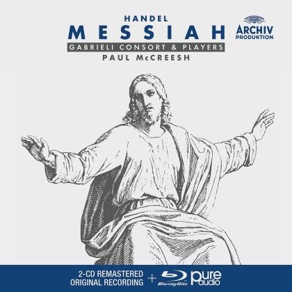 Gabrieli Players & Georg Friedrich Händel (1685-1759) - Messias HWV 56 (2 CDs + Blu-ray)