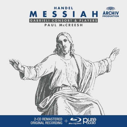 Gabrieli Consort, Gabrieli Players, Georg Friedrich Händel (1685-1759) & Paul McCreesh - Messiah HWV 56 - Messias HWV 56 (2 CDs + Blu-ray)