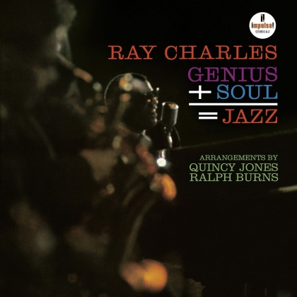 Ray Charles - Genius + Soul = Jazz (2021 Reissue, Verve, LP)