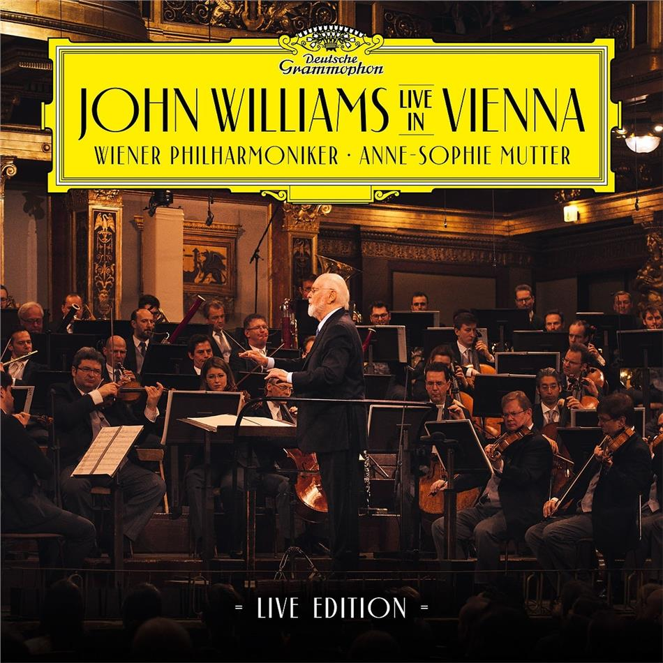 John Williams (*1932) (Komponist/Dirigent) & Anne-Sophie Mutter - John Williams In Vienna (2021 Reissue, Deutsche Grammophon, Limited Edition, 2 CDs)