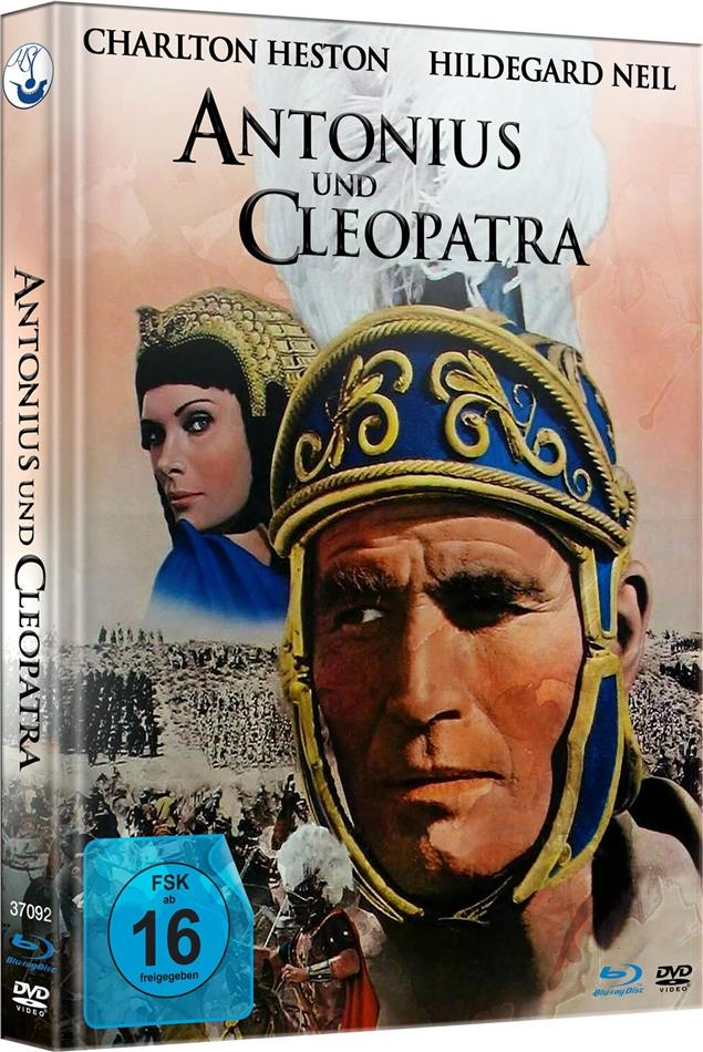 Antonius und Cleopatra (1972) (Extended Edition, Kinoversion, Limited Edition, Mediabook, Blu-ray + DVD)