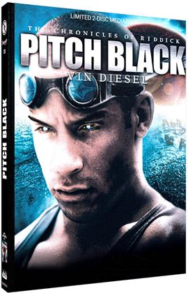Pitch Black (2000) (Cover D, Limited Edition, Mediabook, Blu-ray + DVD)