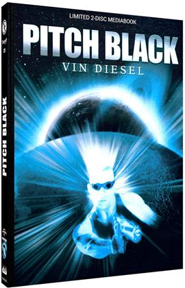Pitch Black (2000) (Cover C, Limited Edition, Mediabook, Blu-ray + DVD)