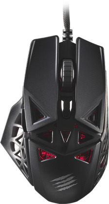 MadCatz M.O.J.O. M1, ultralightweight optical Gaming Mouse - Black