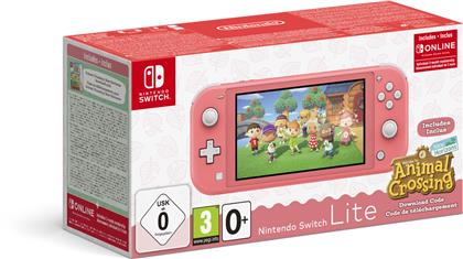 Nintendo Switch Lite Koralle & Animal Crossing: New Horizons-Edition