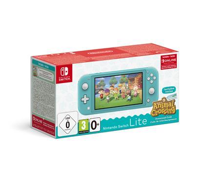 Nintendo Switch Lite Türkis & Animal Crossing: New Horizons-Edition