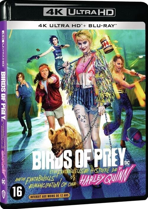 Birds of Prey - Et la fantabuleuse histoire de Harley Quinn (2020) (4K Ultra HD + Blu-ray)