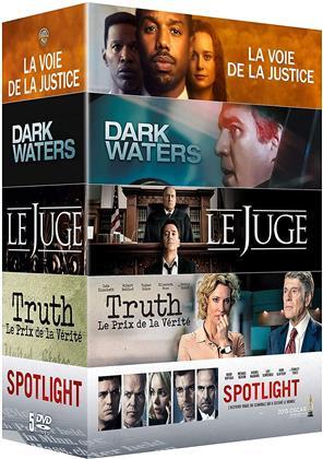 La voie de la justice / Le Juge / Truth / Spotlight / Dark Waters (5 DVDs)