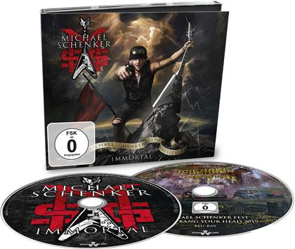 MSG (Michael Schenker Group) - Immortal (Digipack, CD + Blu-ray)