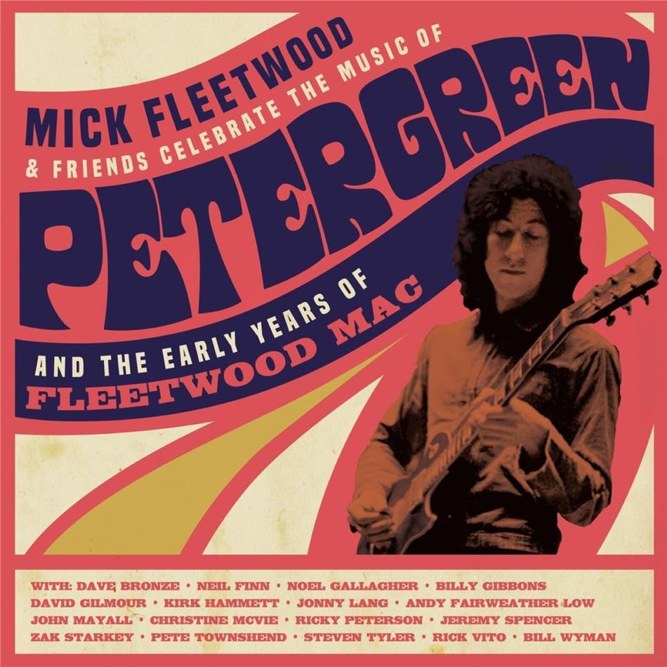 Mick Fleetwood & Friends - Celebrate the Music of Peter Green and the Early Years of Fleetwood Mac (4 LPs)