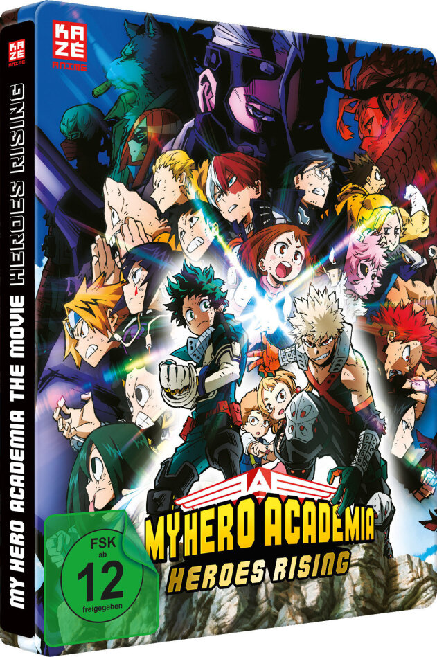 My Hero Academia - The Movie: Heroes Rising (2019) (Edizione Limitata, Steelbook)