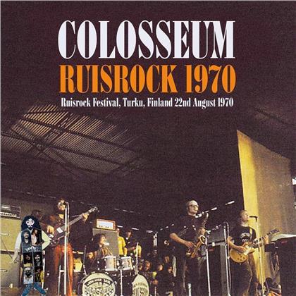 Colosseum - Live At Ruisrock Festival Finland 22 August 1970 (LP)